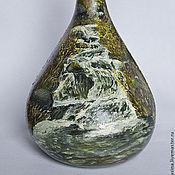 Посуда ручной работы. Ярмарка Мастеров - ручная работа Бутылка Горный ручей. Handmade.