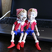 Куклы и игрушки ручной работы. Ярмарка Мастеров - ручная работа Буратино.. Handmade.