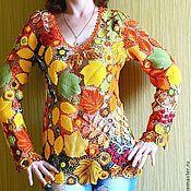 """Одежда ручной работы. Ярмарка Мастеров - ручная работа Платье """"Золотая осень"""". Handmade."""