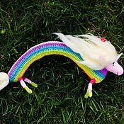 Куклы и игрушки ручной работы. Ярмарка Мастеров - ручная работа Леди ливнерог (Lady Rainicorn). Handmade.