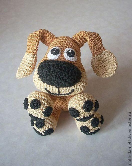 Игрушки животные, ручной работы. Ярмарка Мастеров - ручная работа. Купить Самый Верный Друг.Пёс,щенок вязаный,собака вязаная игровая. Handmade.