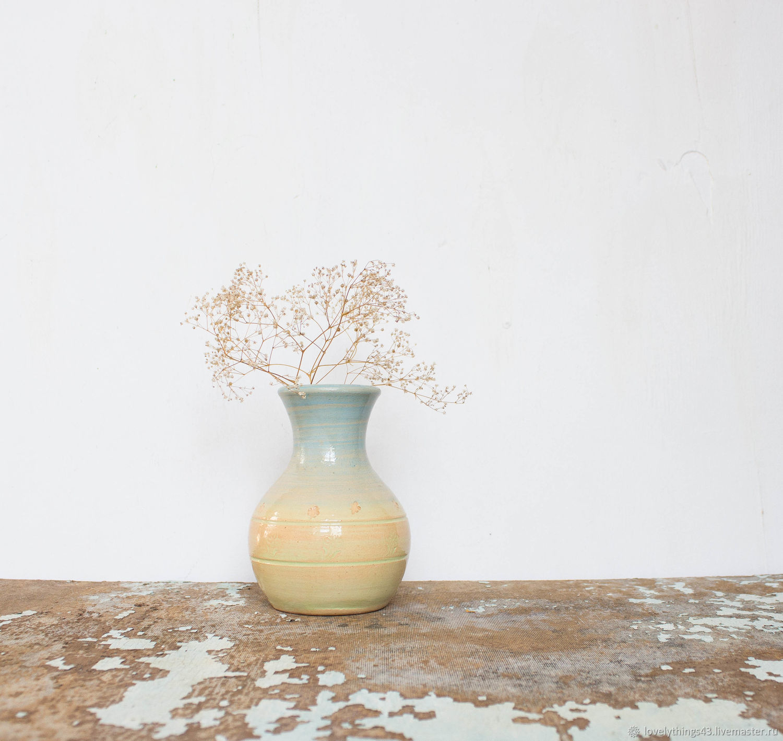керамическая ваза для сухоцветов 14 см, Вазы, Киров, Фото №1
