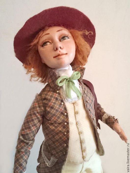 Коллекционные куклы ручной работы. Ярмарка Мастеров - ручная работа. Купить Гензель. Handmade. Лимонный, сказка, дерево