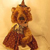 Куклы и игрушки ручной работы. Ярмарка Мастеров - ручная работа Медведица в колпачке. Handmade.