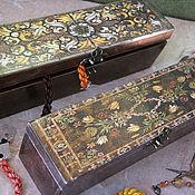 Для дома и интерьера handmade. Livemaster - original item Box for needlework Beautiful storage. Decoupage box. Handmade.