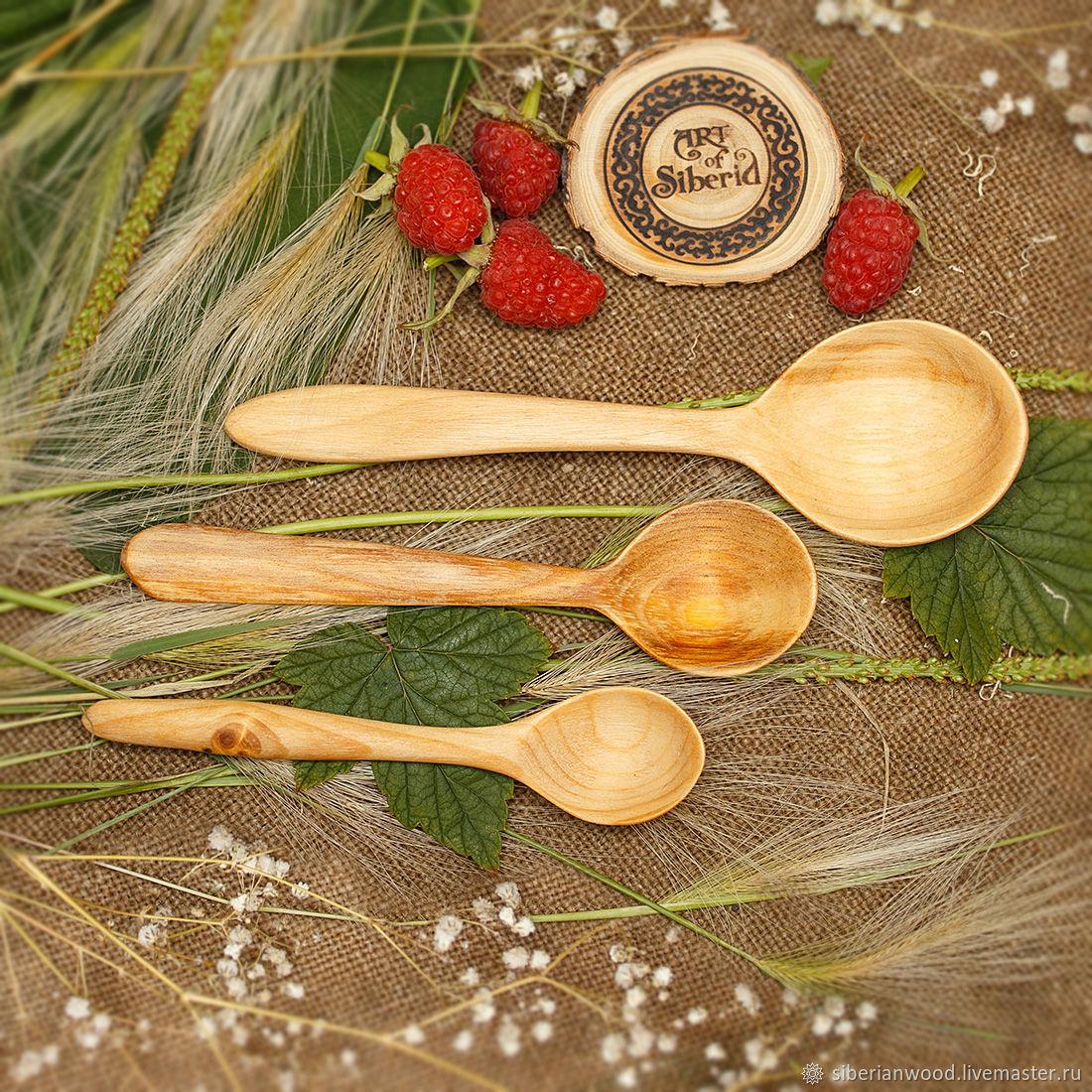 Wooden spoons (FAMILY3#1, Spoons, Novokuznetsk,  Фото №1