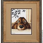 """Картины и панно ручной работы. Ярмарка Мастеров - ручная работа """"Верный друг"""". Handmade."""