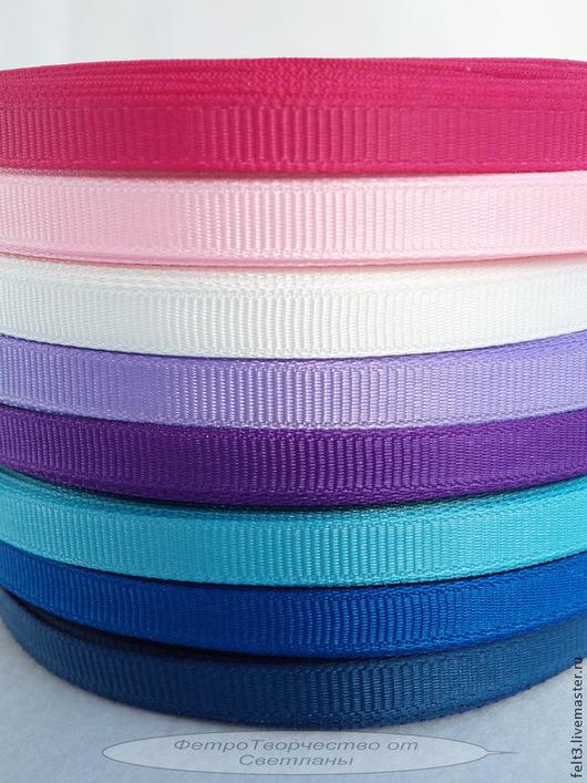 - ярко-розовый - светло-розовый - белый - сиреневый - фиолетовый - бирюзовый  - синий -темно-синий