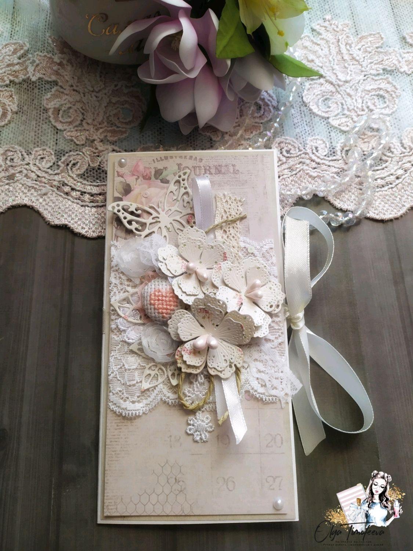 Конверт для денег в стиле шебби, Открытки, Санкт-Петербург,  Фото №1