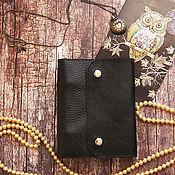 Канцелярские товары handmade. Livemaster - original item Notepad A6 on the rings. Handmade.