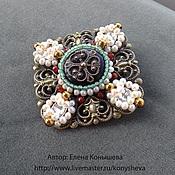 Украшения handmade. Livemaster - original item Brooch - cross Gift of the Empress. Handmade.