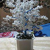 Подарки к праздникам ручной работы. Ярмарка Мастеров - ручная работа Дерево счастья из кахолонга (белый агат). Handmade.