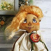 Куклы и игрушки ручной работы. Ярмарка Мастеров - ручная работа Текстильная кукла. Ангелушка Варя.. Handmade.