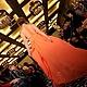 """Платья ручной работы. Авторское платье """" Жар-птица"""". Екатерина Мурмилова (katyamurmilova). Ярмарка Мастеров. Шифон, атлас"""