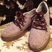 """Обувь ручной работы. Ярмарка Мастеров - ручная работа Валяные ботинки """"Анна"""". Handmade."""