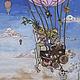 Лягушки путешественницы, Картины, Санкт-Петербург,  Фото №1