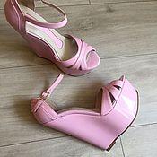 Обувь ручной работы. Ярмарка Мастеров - ручная работа Босоножки Levianne. Handmade.
