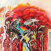"""Картины и панно ручной работы. Ярмарка Мастеров - ручная работа """"Потусторонний мир"""" акварельная живопись. Handmade."""