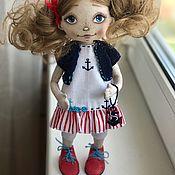 Куклы и игрушки ручной работы. Ярмарка Мастеров - ручная работа Текстильная кукла Саша. Handmade.