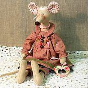 Tilda Toys handmade. Livemaster - original item mouse ... . Handmade.