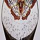Вазы ручной работы. Ярмарка Мастеров - ручная работа. Купить Ваза Бабочка. Handmade. Классика, коричневый, паста текстурная