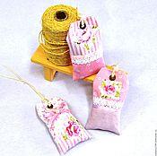 Для дома и интерьера handmade. Livemaster - original item Scented sachets, shabby chic, bags with herbs. Handmade.