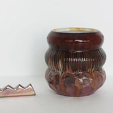 Канцелярские товары ручной работы. Ярмарка Мастеров - ручная работа Небольшая ваза Самородок. Handmade.