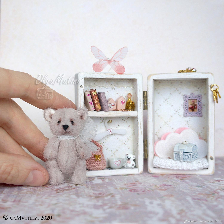 custom! Wooden bear chest, Doll houses, Cheboksary,  Фото №1