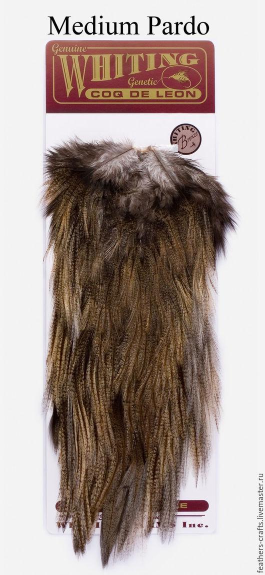 Другие виды рукоделия ручной работы. Ярмарка Мастеров - ручная работа. Купить Перья Coq de Leon Bronze Saddle  Medium Pardo (51302043). Handmade.