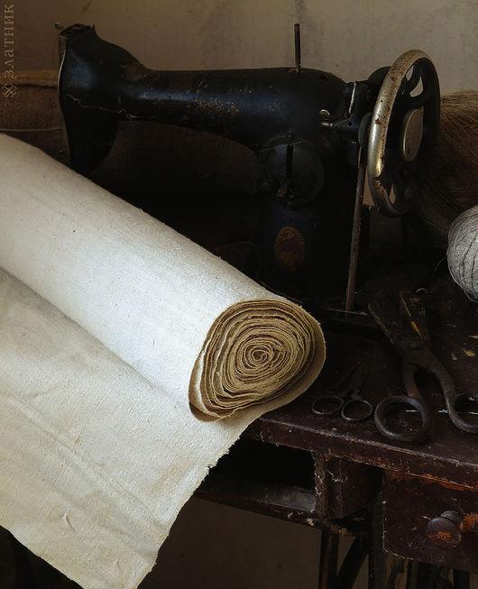 Конопляная домоткань. Старинная ткань из конопли