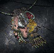 Украшения ручной работы. Ярмарка Мастеров - ручная работа Горы и реки, кулон. Handmade.