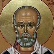 Картины и панно handmade. Livemaster - original item The Icon Of Saint Nicholas. Handmade.