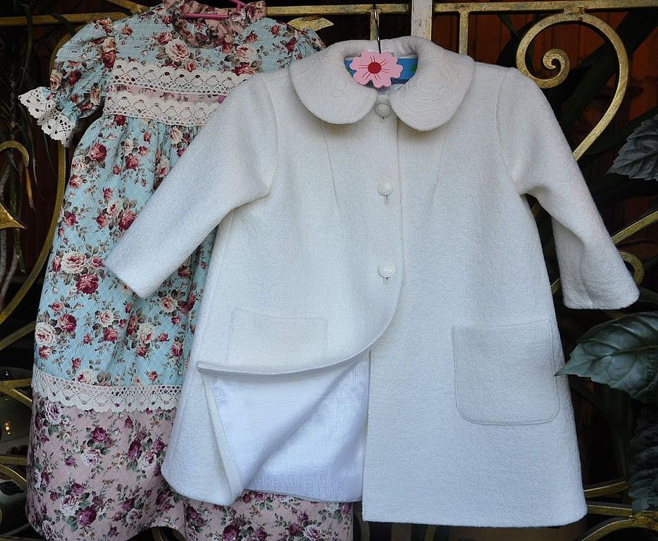 Coat 'Snow White', Childrens outerwears, Voskresensk,  Фото №1