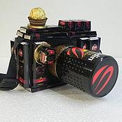 Подарки к праздникам ручной работы. Ярмарка Мастеров - ручная работа Букет из конфет Фотоаппарат. Handmade.