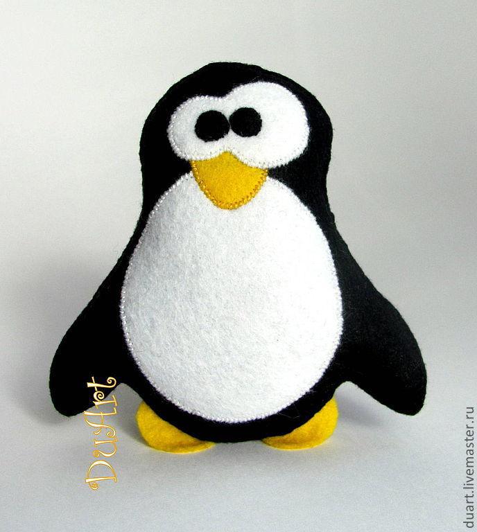 Игрушка пингвин своими руками елку своими руками