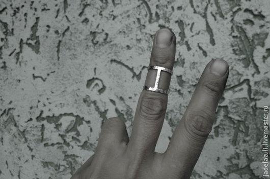 Кольца ручной работы. Ярмарка Мастеров - ручная работа. Купить Серебряное геометричное кольцо Corselet. Handmade. Серебряный, перстень из серебра