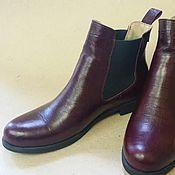 Обувь ручной работы. Ярмарка Мастеров - ручная работа Ботинки челси. Handmade.