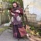 Слингоодежда ручной работы. Ярмарка Мастеров - ручная работа. Купить Пряничная эльфийская парка для ношения в слинге и во время беременност. Handmade.