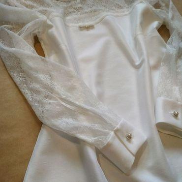 Одежда ручной работы. Ярмарка Мастеров - ручная работа Блуза в романтическом стиле. Handmade.
