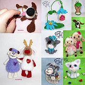 Материалы для творчества handmade. Livemaster - original item MK knitting DIFFERENT 100rub. Handmade.