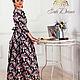Платья ручной работы. Ярмарка Мастеров - ручная работа. Купить Платье. Handmade. Цветочный, женственное платье, платье с цветами