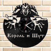 """Для дома и интерьера ручной работы. Ярмарка Мастеров - ручная работа Часы """"Король и Шут"""". Handmade."""