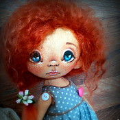 Куклы и игрушки ручной работы. Ярмарка Мастеров - ручная работа Варенька. Текстильная кукла. Handmade.