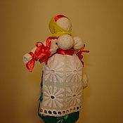 Куклы и игрушки ручной работы. Ярмарка Мастеров - ручная работа Обрядовая славянская кукла Крупяничка на богатство. Handmade.