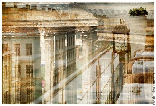 Художественная фотокартина на заказ «Архитектурные Стансы». Санкт-Петербург, Россия. Елена Ануфриева
