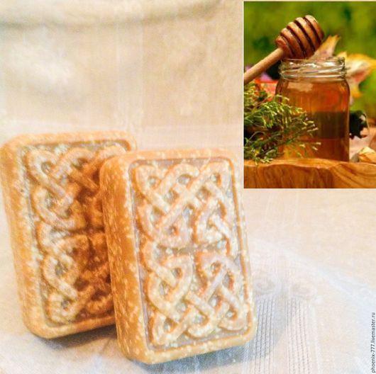 Фото: мыло натуральное Оливковое с Медом (1500х1494)