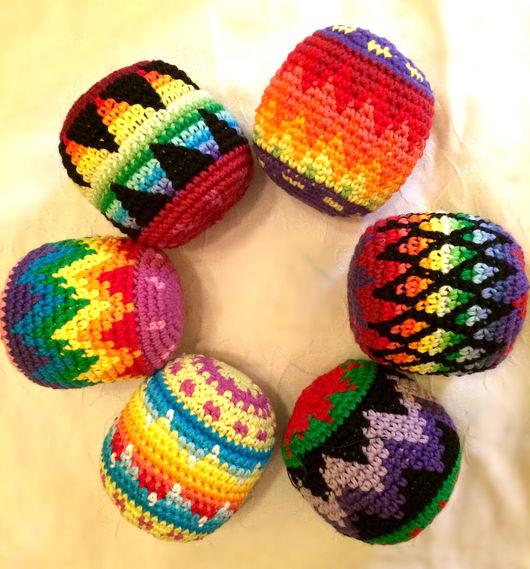 Вальдорфская игрушка ручной работы. Ярмарка Мастеров - ручная работа. Купить Вязаный крючком  мячик (Hasky ball). Handmade.