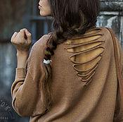 """Одежда ручной работы. Ярмарка Мастеров - ручная работа Джемпер """"Крылатый ветер"""". Handmade."""