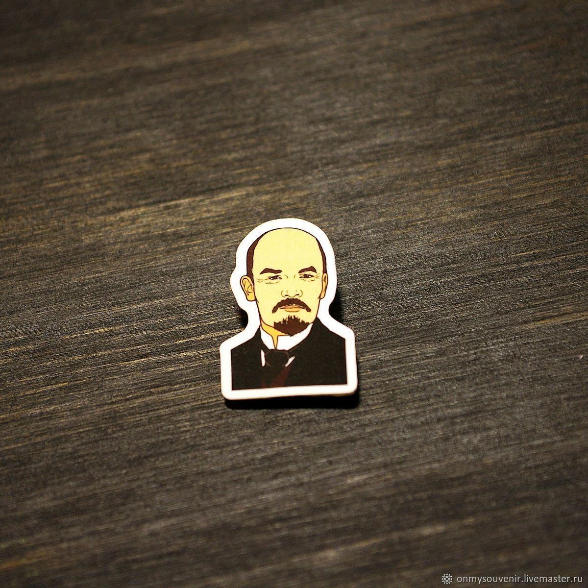 Icon ' Lenin V. I.', Badge, Voronezh,  Фото №1