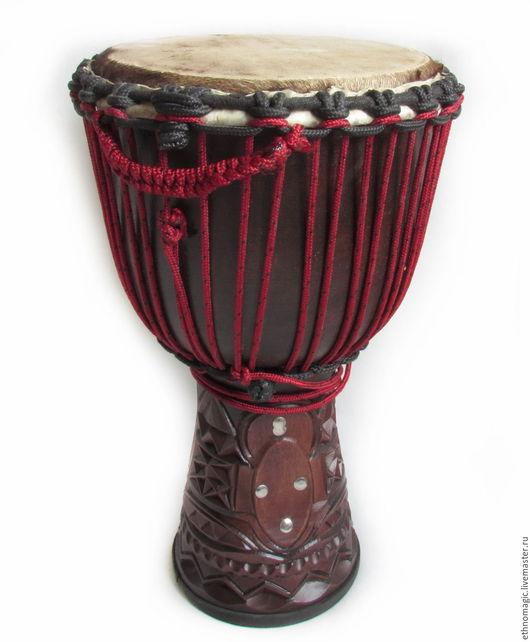 Ударные инструменты ручной работы. Ярмарка Мастеров - ручная работа. Купить Барабан  джембе. Handmade. Барабан, кожа натуральная